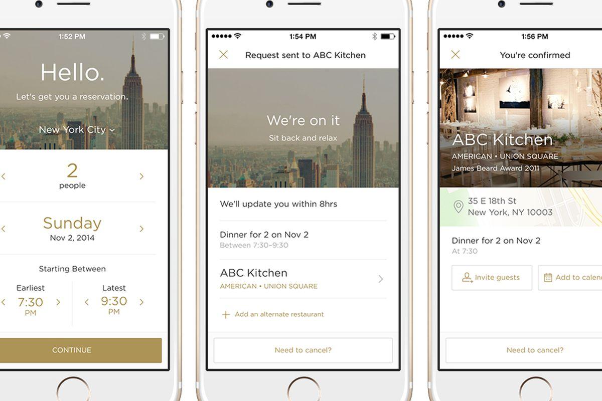 Reserve New App Is Your Concierge To Hot Restaurants Across