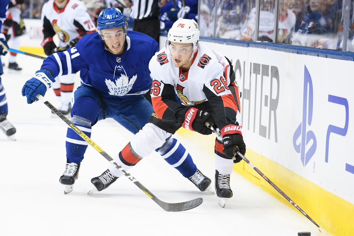 Game Preview: Maple Leafs vs Ottawa Senators