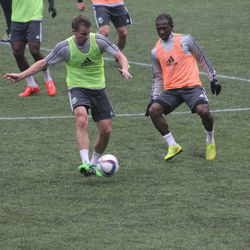... But Besler gets the pass off.
