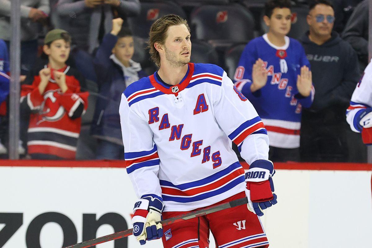 NHL: OCT 01 Rangers at Devils