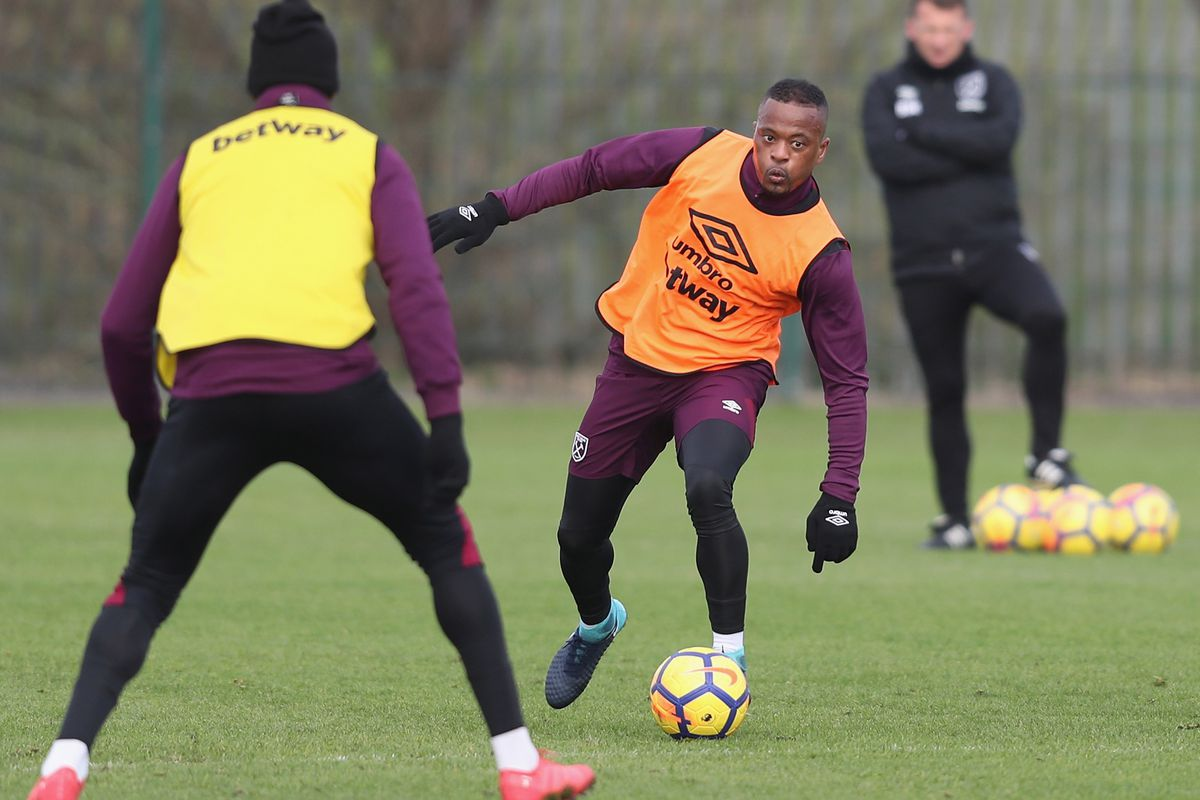 West Ham United Unveil New Signing Patrice Evra