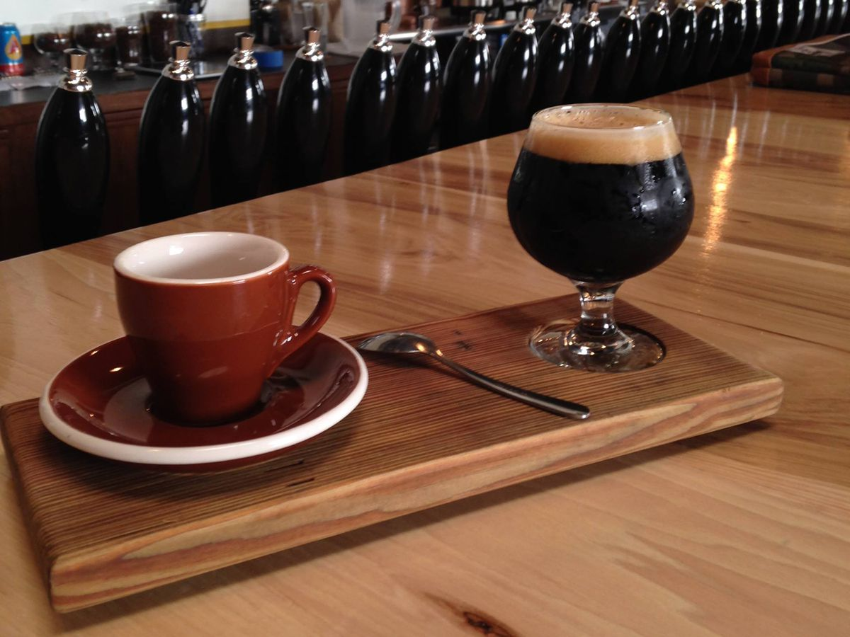 Coffee and beer magic at Wright Bros. Brew & Brew