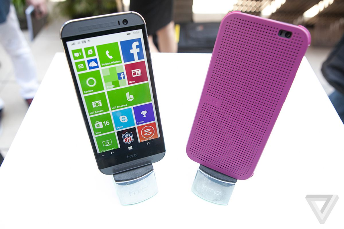 At T Is Getting Htc S New One With Windows Phone Too The Verge