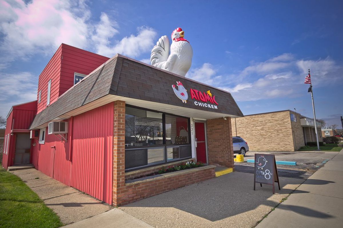 atomic chicken in clawson