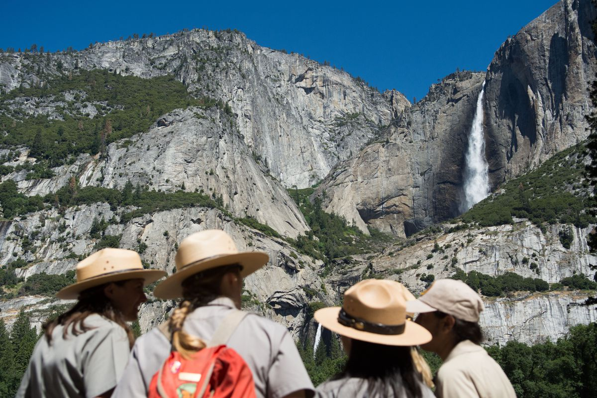 President Obama Speaks At Yosemite National Park Marking 100th Anniversary Of The Creation Of America's National Park System