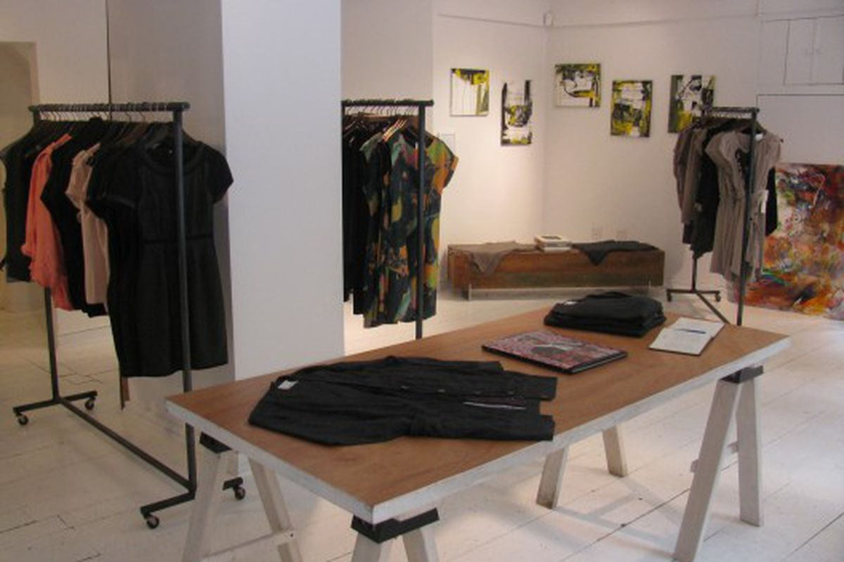 The interior of the Jodi Arnold Flagship on University Place