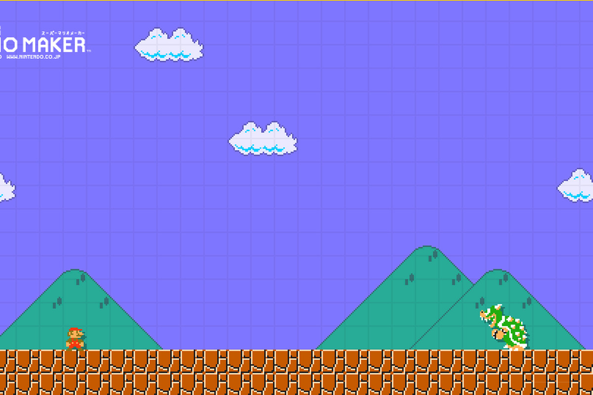 Nintendo Has Launched A Super Mario Maker Themed Wallpaper Creator Expanding The Games Level Creation To PC And Mobile Devices