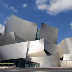 """<a href=""""http://www.laphil.com/wdch10/index.html""""><b>Walt Disney Concert Hall</b></a> (111 S Grand Ave): Designed by famed architect Frank Gehry, this striking DTLA landmark—which happens to be celebrating it's 10th anniversary this year—is th"""