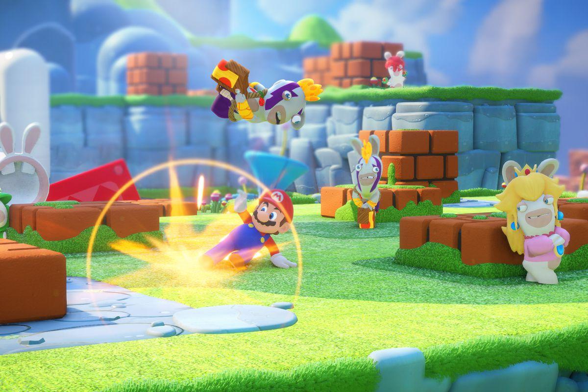 Mario + Rabbids is a shockingly good Nintendo Switch