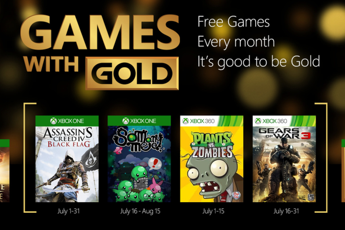 Xbox Gold Games August 2020.Games With Gold Expands To Two Xbox One Games Starting In