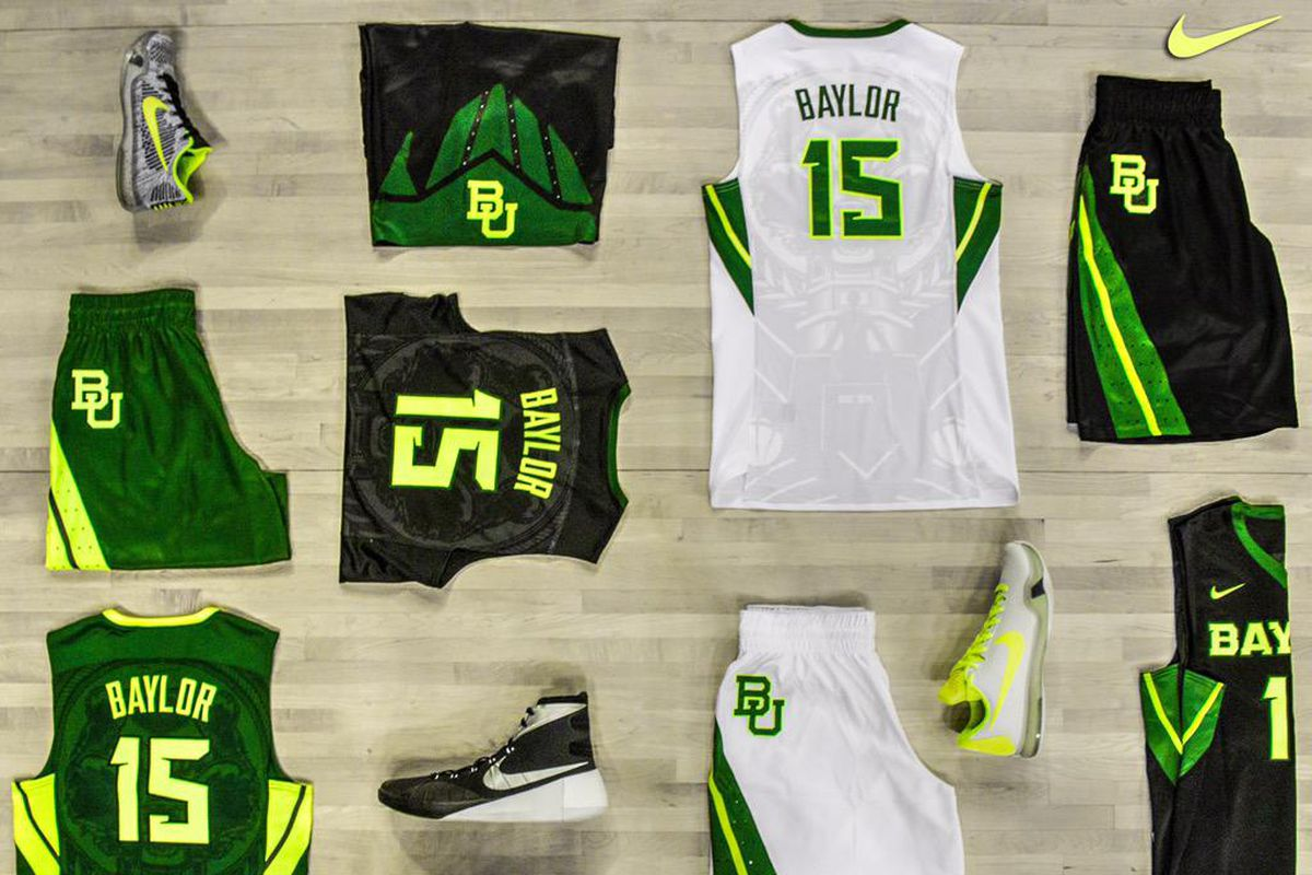 7acf732ec0d0 Baylor Basketball Debuts New Uniform Combinations on Twitter - Our ...