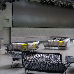 Topgolf's concert area