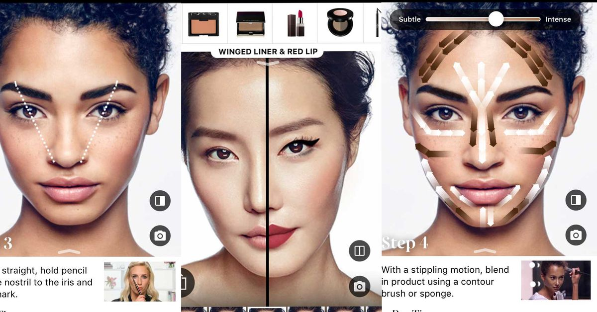 https://www.theverge.com/2018/3/16/17131260/loreal-modiface-acquire-makeup-ar-try-on