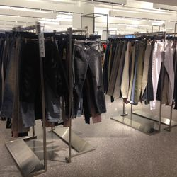 The sale denim section