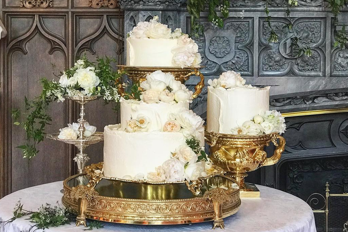The Royal Wedding Cake Looked Stunning On Instagram