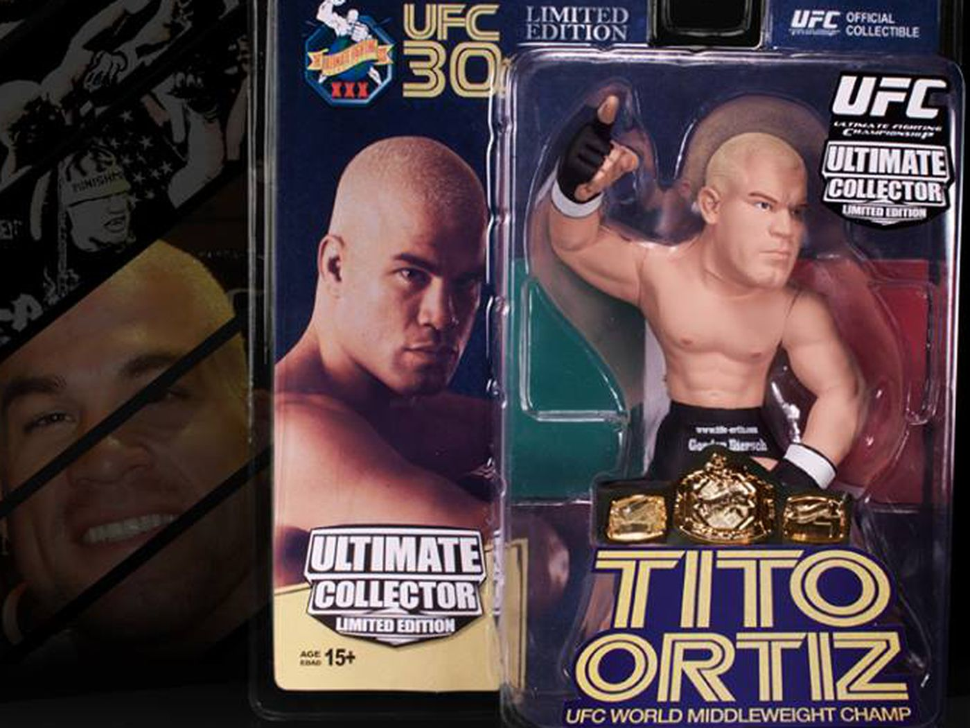Junior Dos Santos UFC Ultimate Collector Series Limited Edition NEW #//500