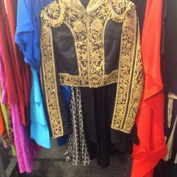 Embroidered jacket, $2,400