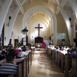 Bishop Scott B. Hayashi of the Episcopal Diocese of Utah, along with diocese spokesman Craig Wirth, recently traveled to Cuba to learn more about the Episcopal Church in that country.