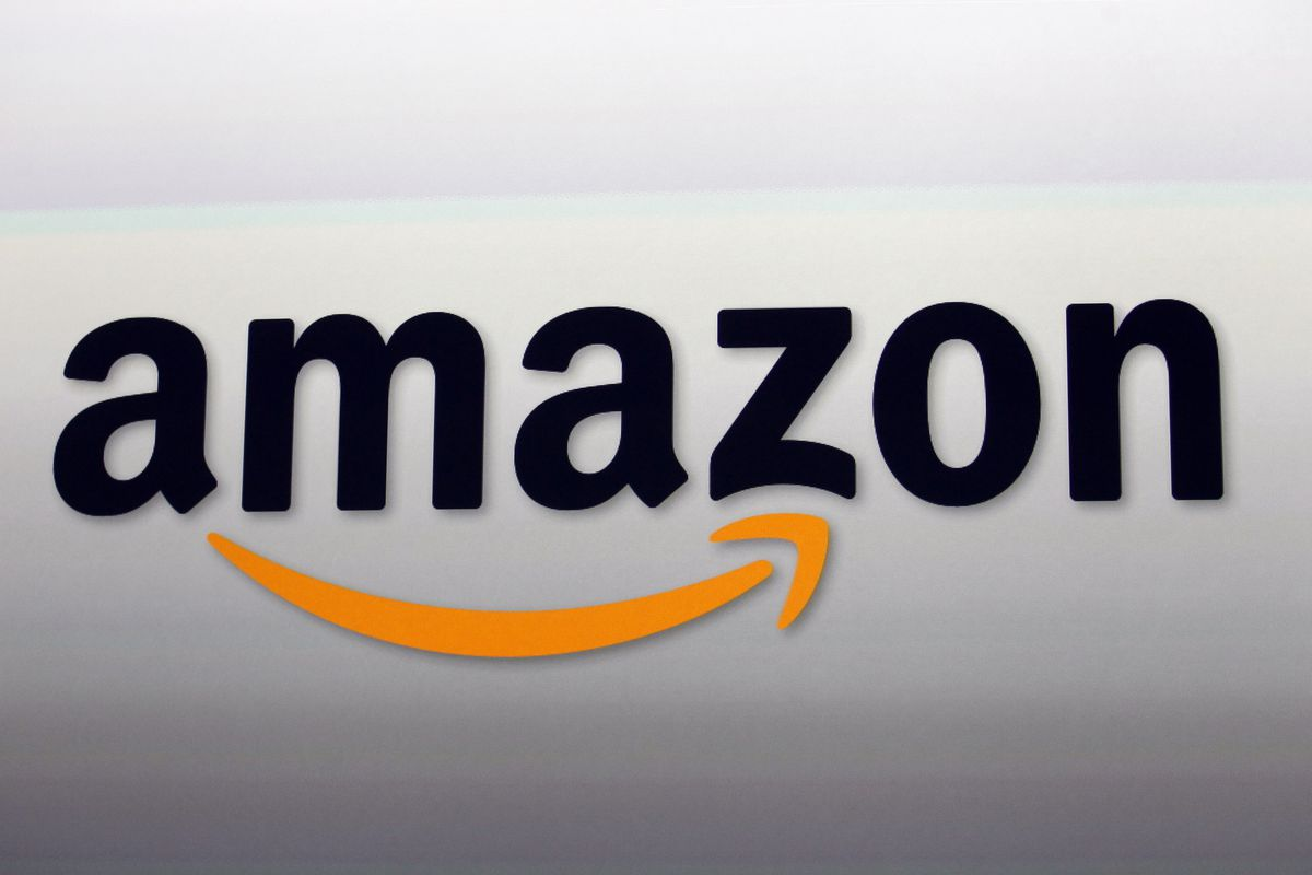 FILE - This Sept. 6, 2012, file photo shows the Amazon logo in Santa Monica, Calif. Amazon announced Thursday, Jan. 18, 2018, that it has narrowed down its potential site for a second headquarters in North America to 20 metropolitan areas, mainly on the E