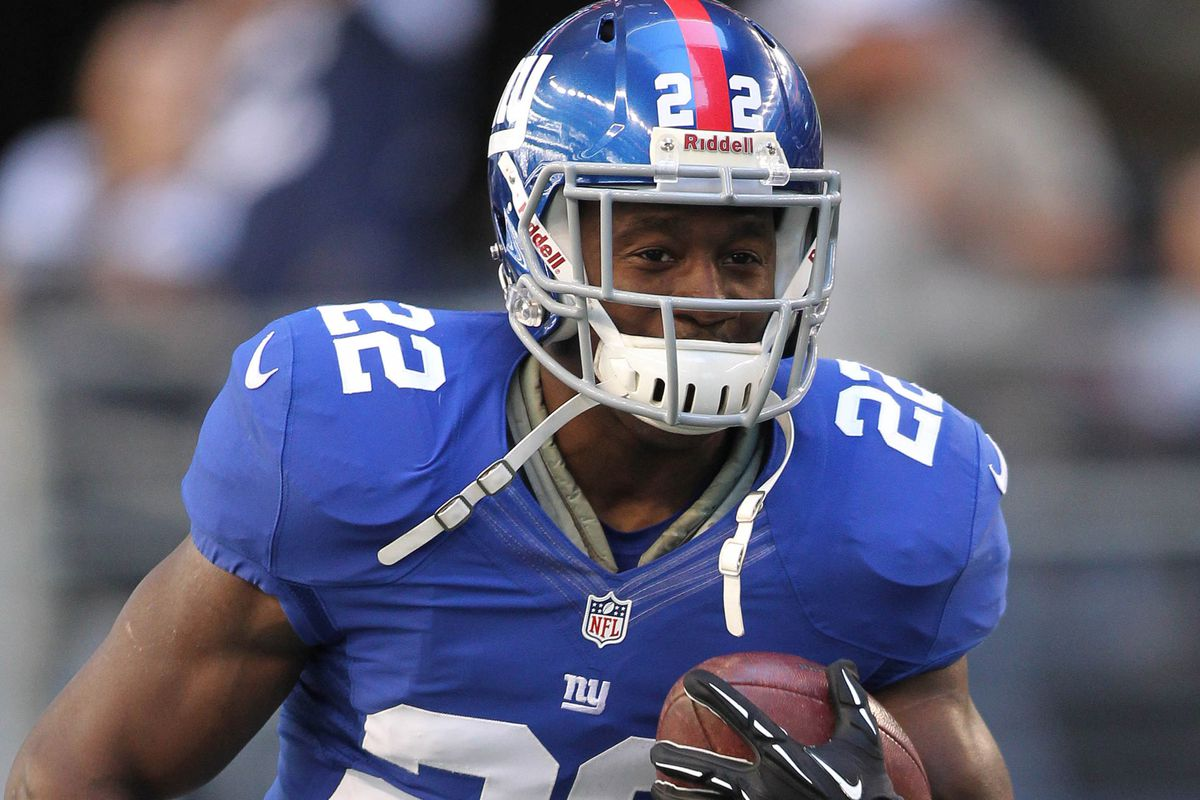David Wilson was the Giants' first-round pick in 2012.