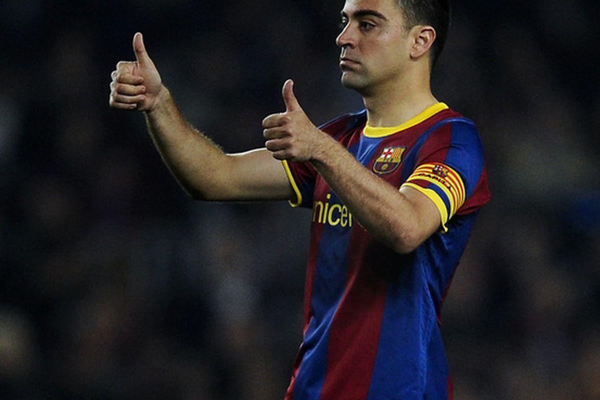FC Barcelona 2010 11 Season in Review Xavi Hernández Barca