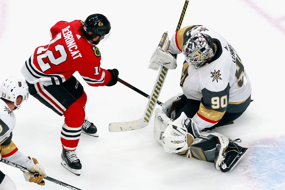 Vegas Golden Knights v Chicago Blackhawks - Game Four
