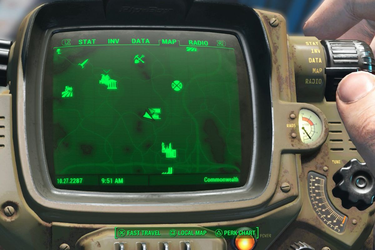 fallout 4 taking point starlight drive in walkthrough polygon