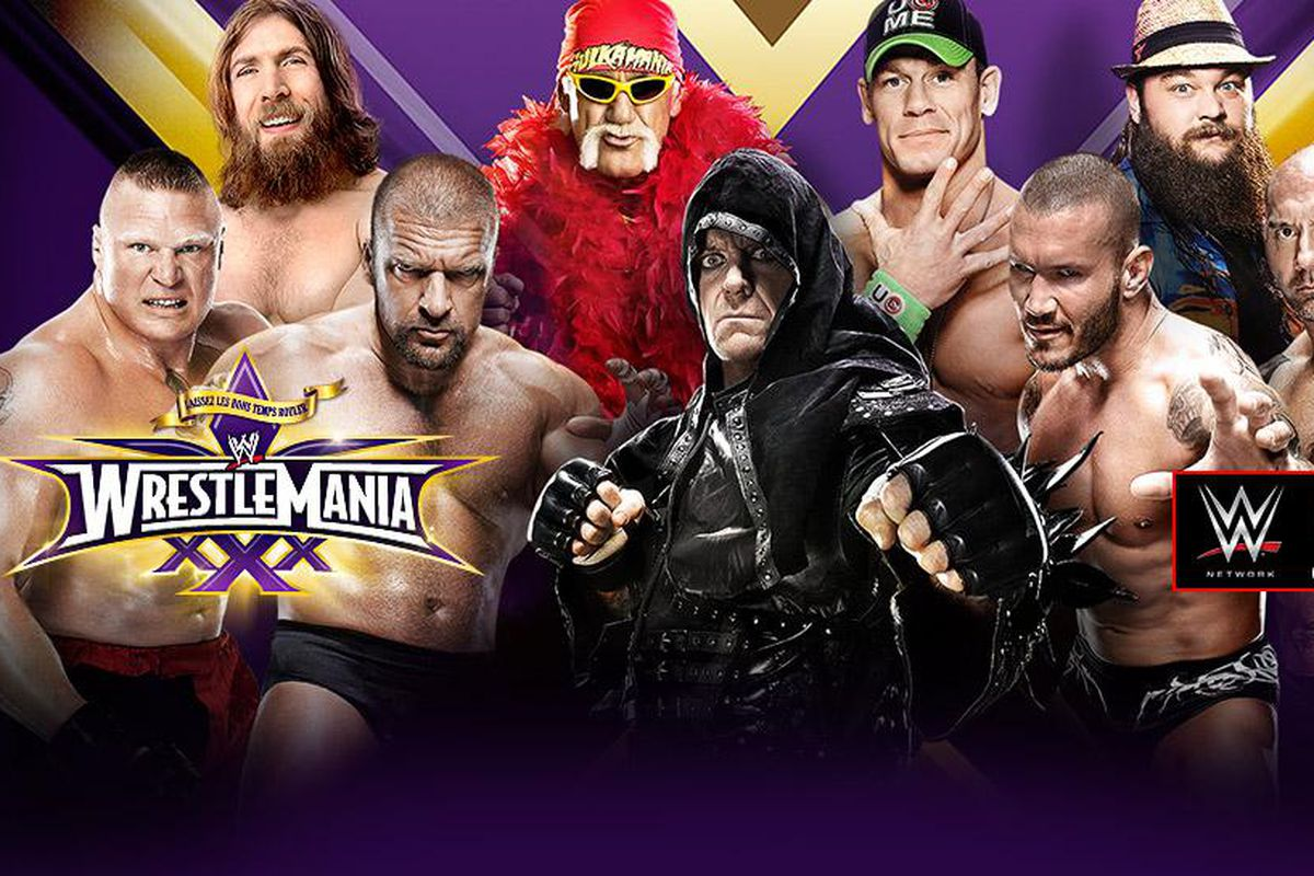 Watch WrestleMania 30 online stream tonight: Live video feed