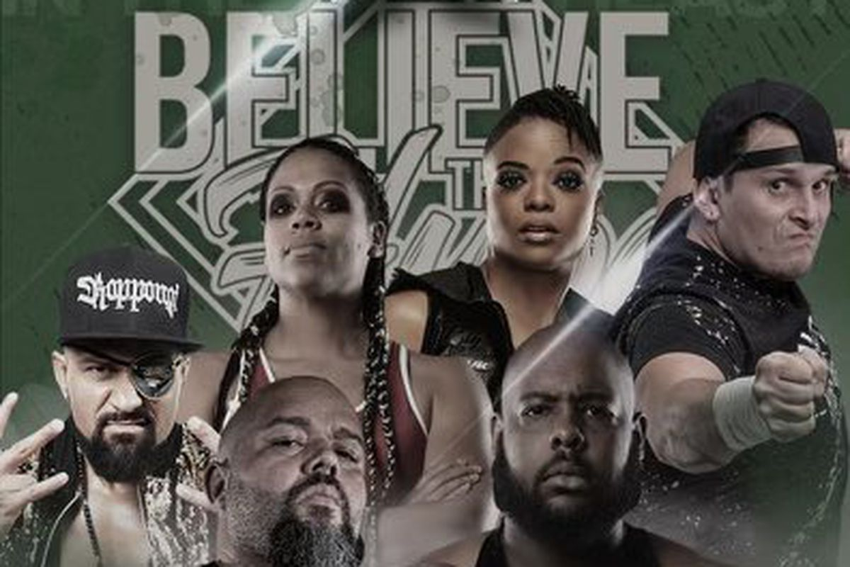 Poster for PWX Believe the Hype