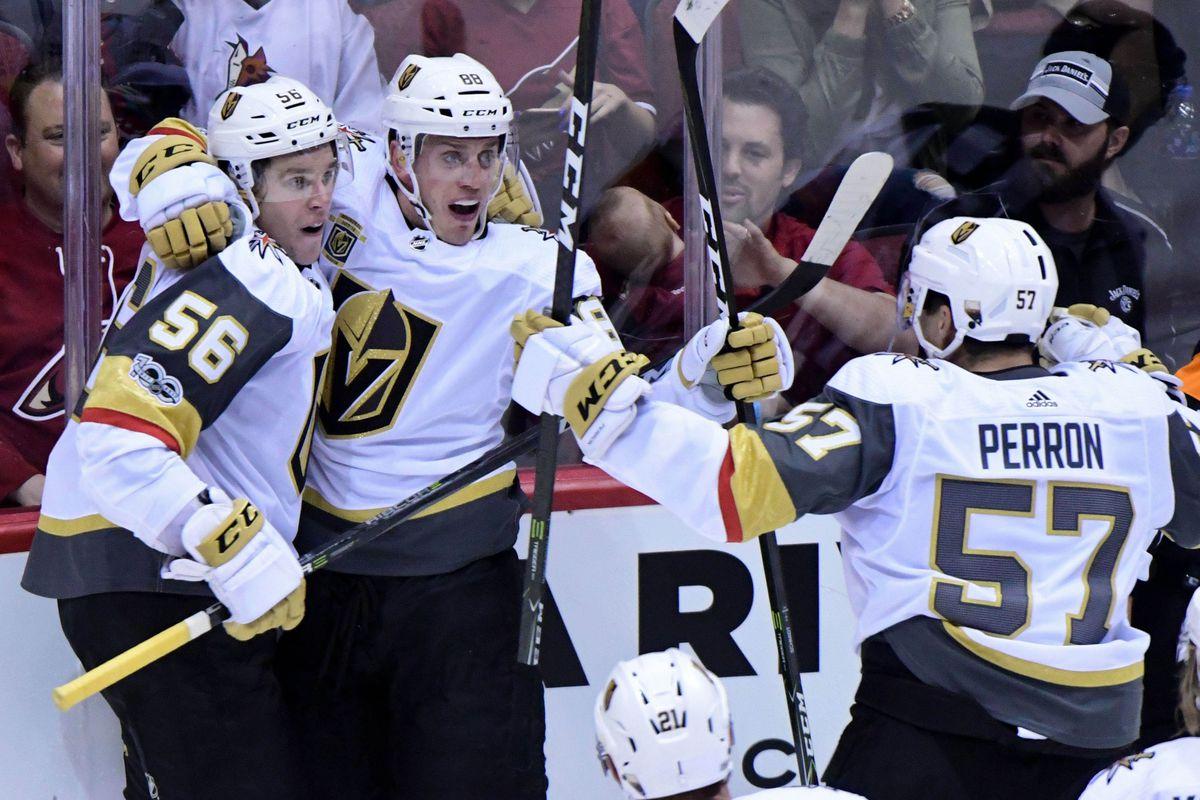 NHL: Vegas Golden Knights at Arizona Coyotes