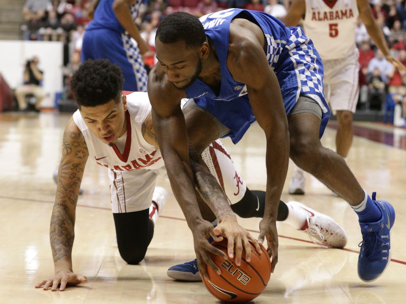 Ar'Mond Davis Alabama Crimson Tide Basketball Jersey - White