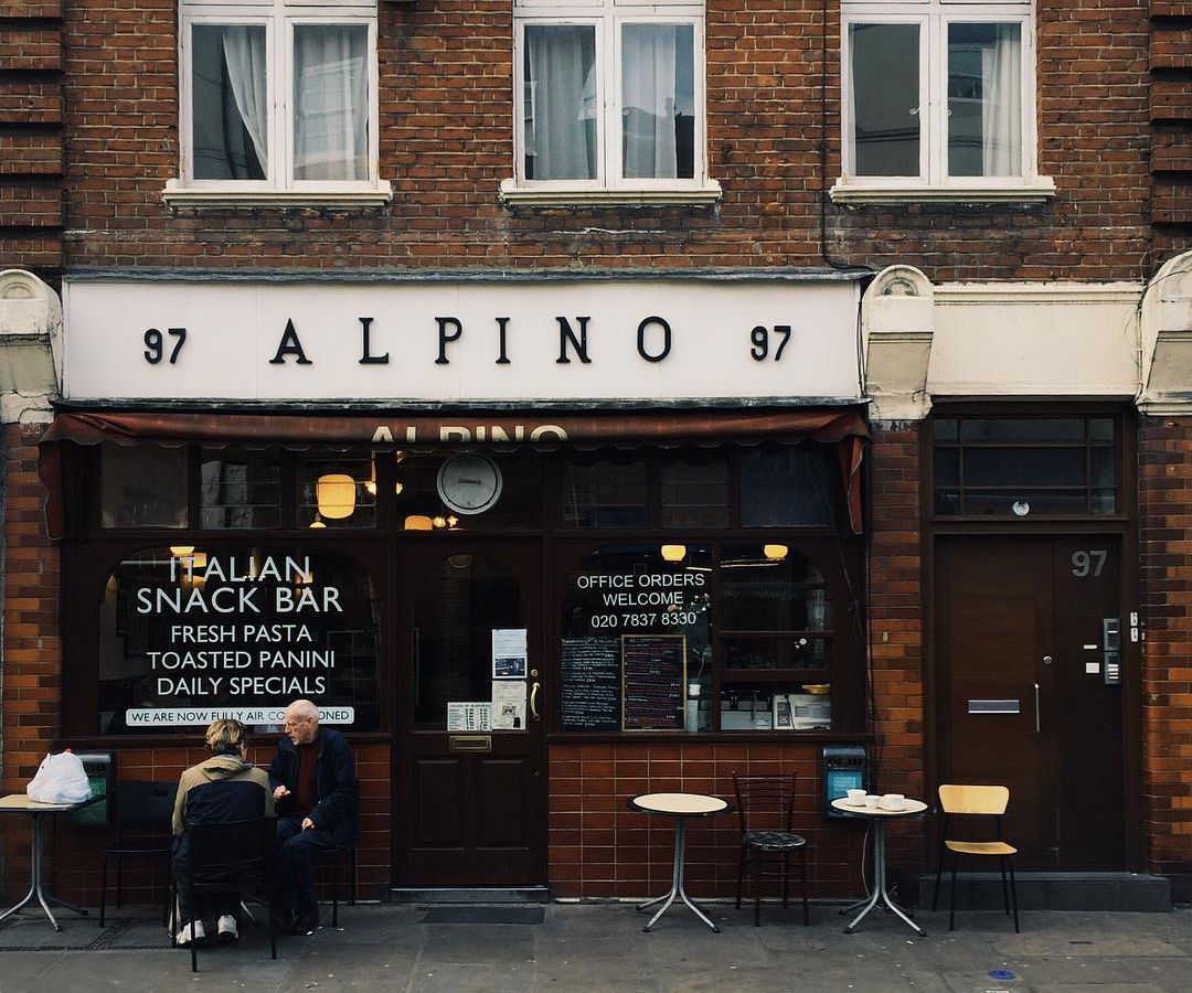 Alpino in Islington, one of central London's best value restaurants