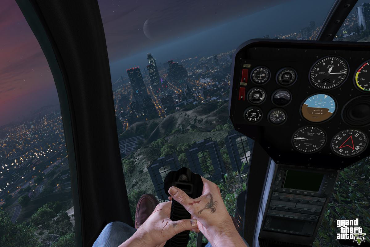 Grand Theft Auto V' in first person is absolutely nuts - The Verge