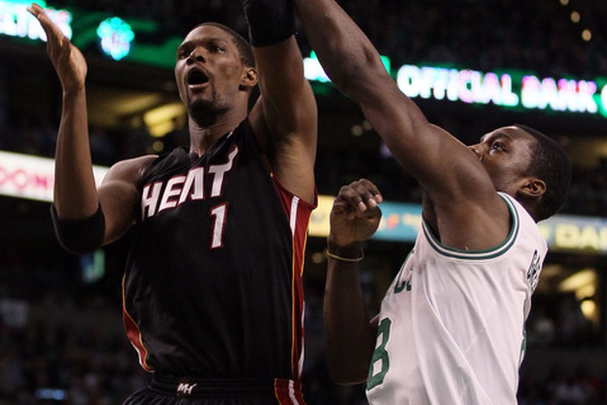 Chris Bosh scored probably the biggest bucket of the game and had by far his best of the series.