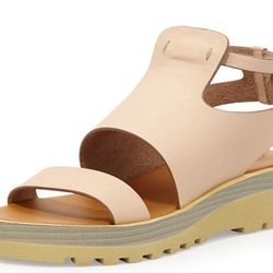 """<b>See by Chloe</b> Leather Chunky Sole Sandal, <a href=""""http://www.bergdorfgoodman.com/See-by-Chloe-Leather-Chunky-Sole-Sandal-Nude/prod95050004_cat10012__/p.prod?icid=&searchType=EndecaDrivenCat&rte=%252Fcategory.service%253FitemId%253Dcat10012%2526page"""
