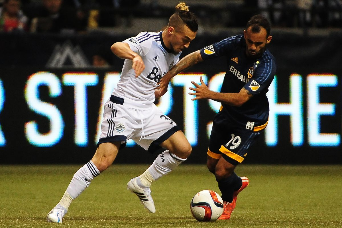 Russel Teibert was a constant thorn in the side of the LA Galaxy midfield during Saturday's match