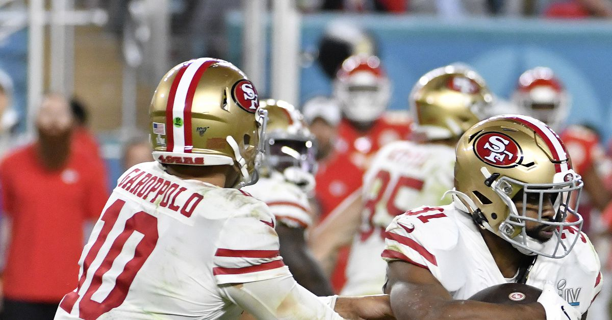 A look at the 49ers depth chart on offense a week into free agency