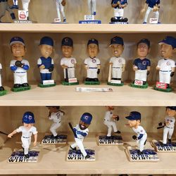 And again, more Cubs bobbleheads