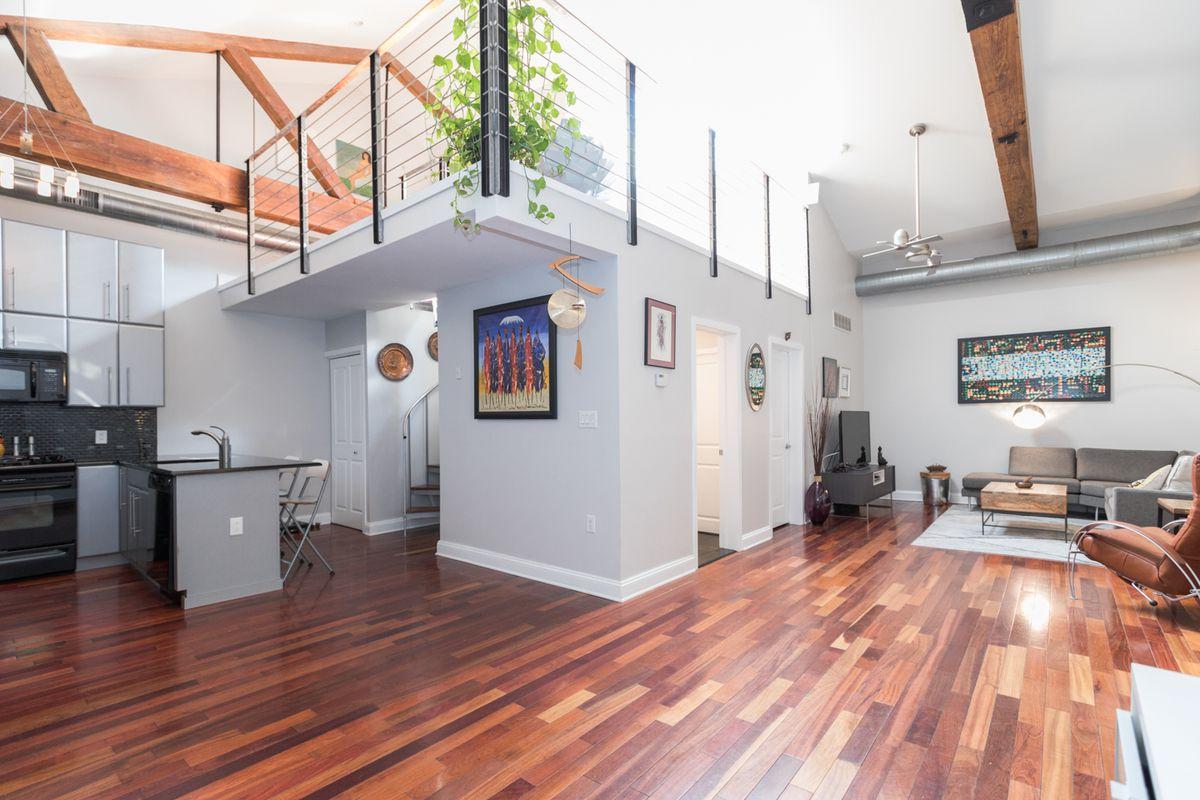 Sunny Old Kensington Loft Asks 299k Curbed Philly