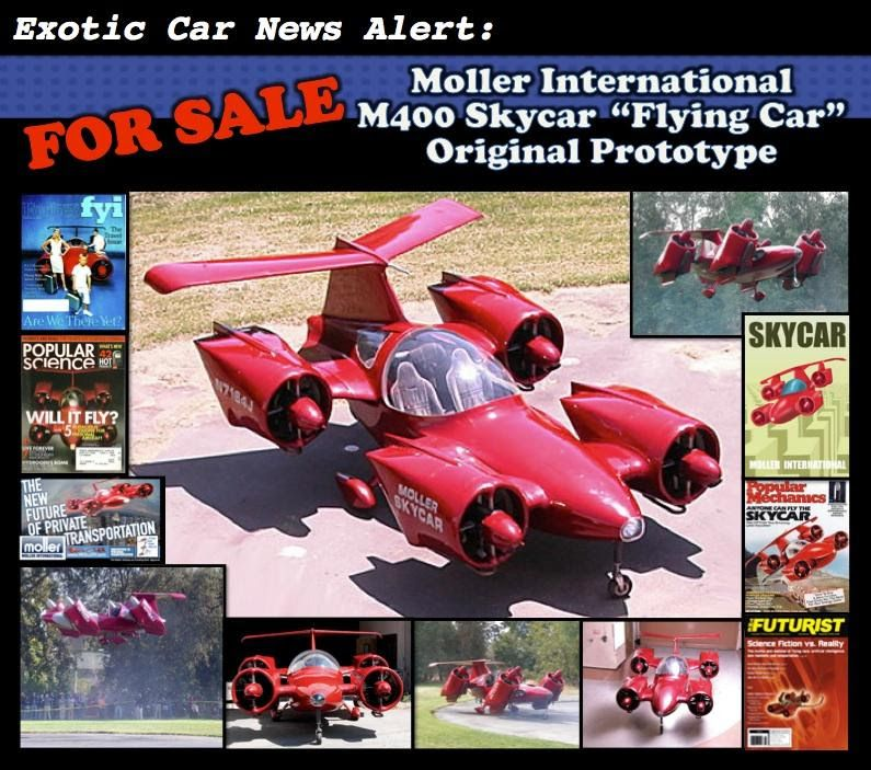 You Can Now Buy The Moller Skycar One Of The World S Most Iconic