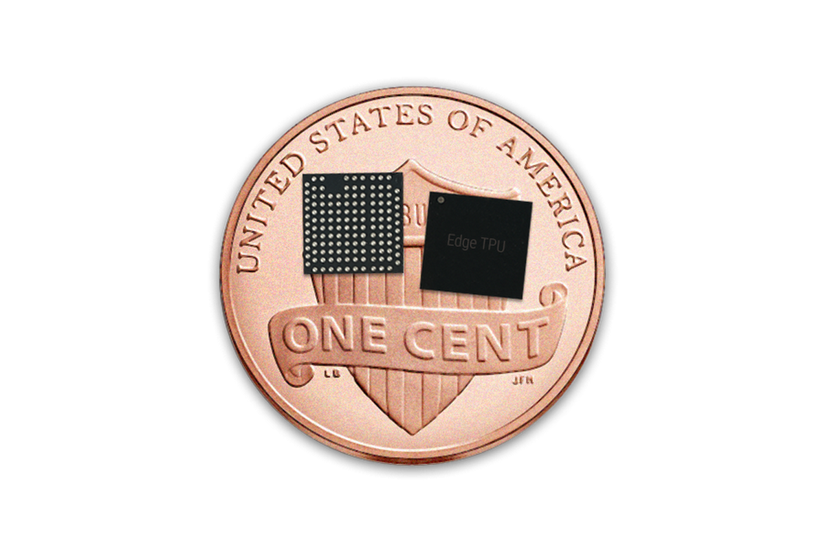 Google Unveils Tiny New Ai Chips For On Device Machine Learning Circuit Board Maker Quality Sale Googles Edge Tpu A Standard Us Penny Credit