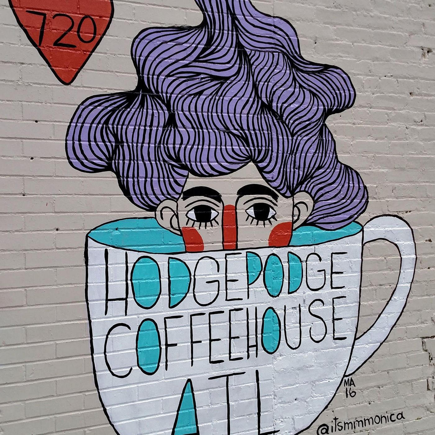 Car Crashes Into Hodgepodge Coffeehouse on Moreland Avenue in East
