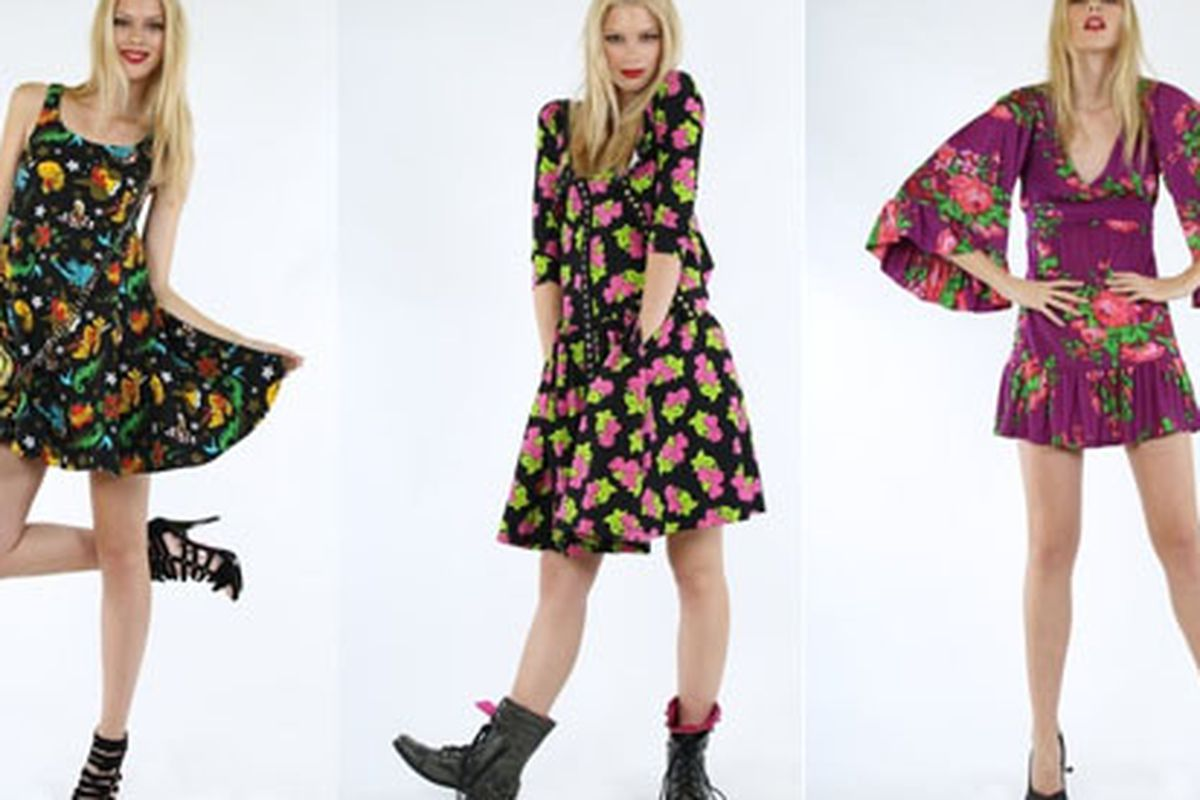 """Betsey Johnson's new Pink Patch features teeny-bopperish looks for under a Franklin. What do you think? Images via <a href=""""http://racked.com/archives/2011/02/14/unveiled-betsey-johnsons-new-lowerpriced-pink-patch-collection.php"""">Racked</a>"""