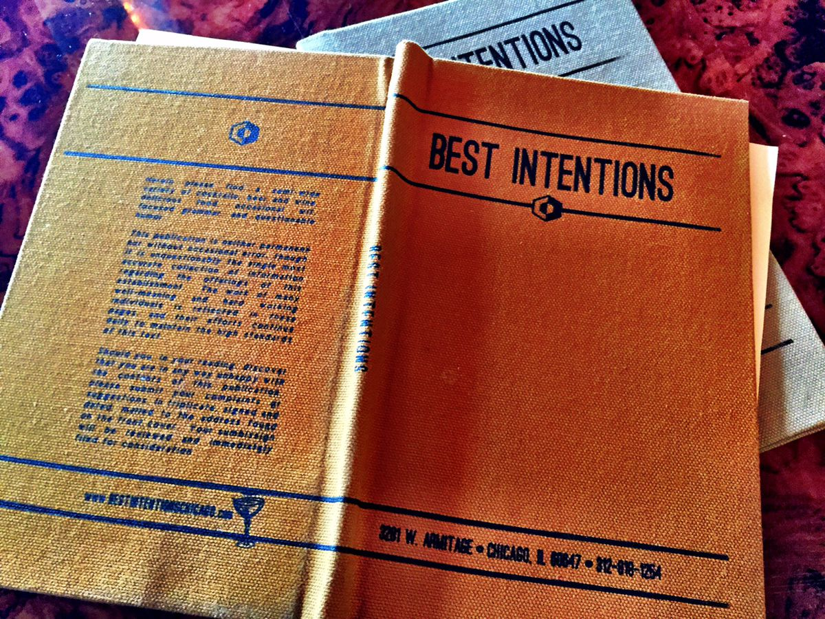 Best Intentions book