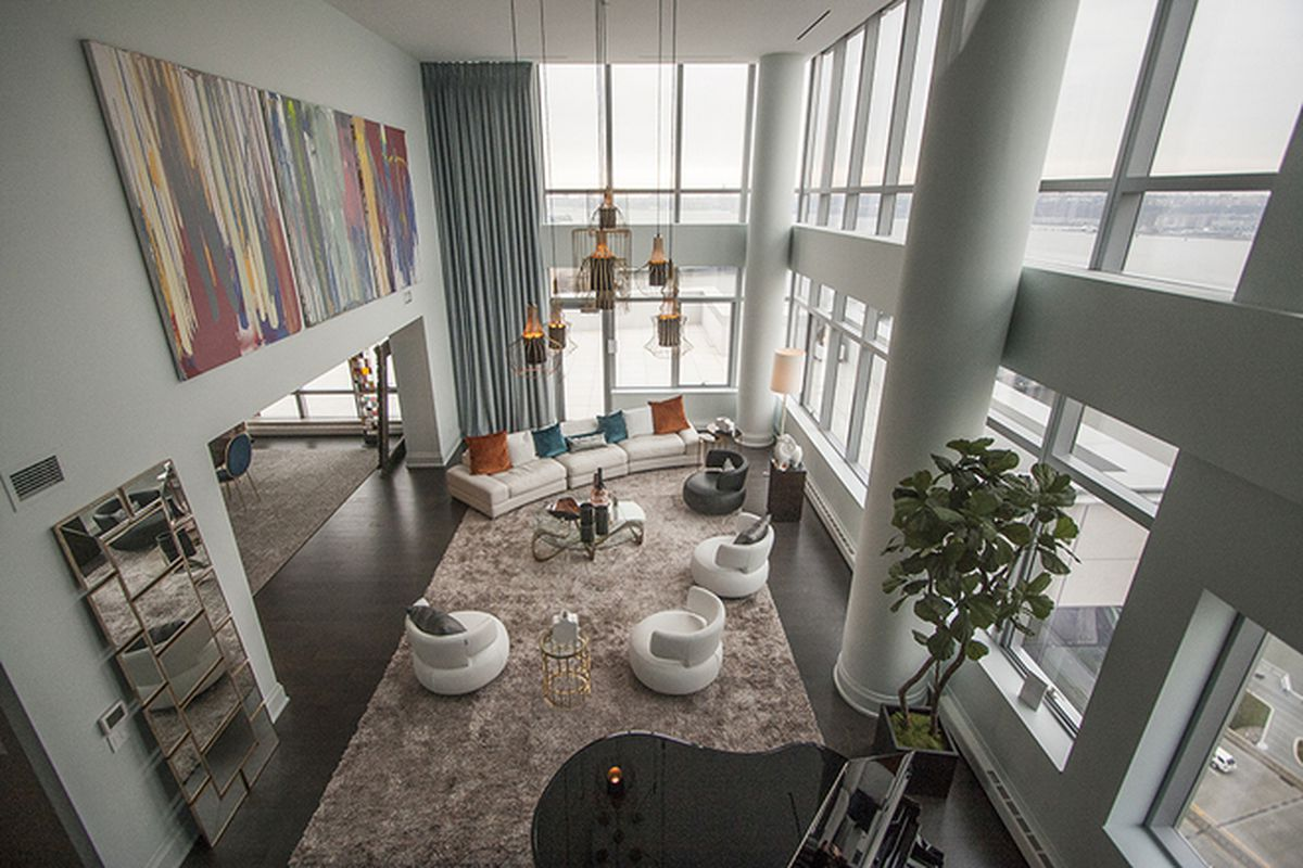 See inside the mansions in the sky of extells one riverside park