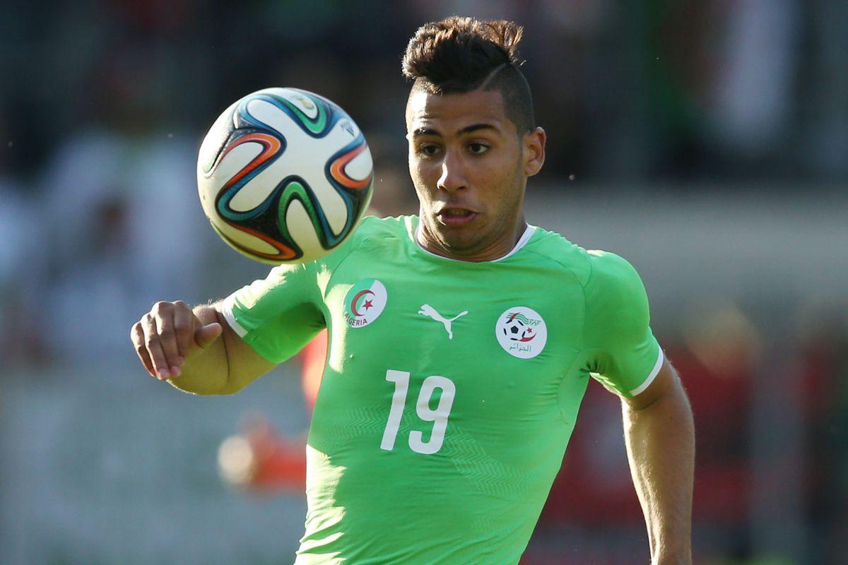 Saphir Taider and Algeria move on