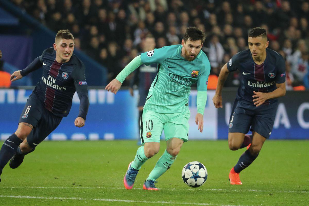 Paris Saint-Germain v FC Barcelona - UEFA Champions League Round of 16: First Leg
