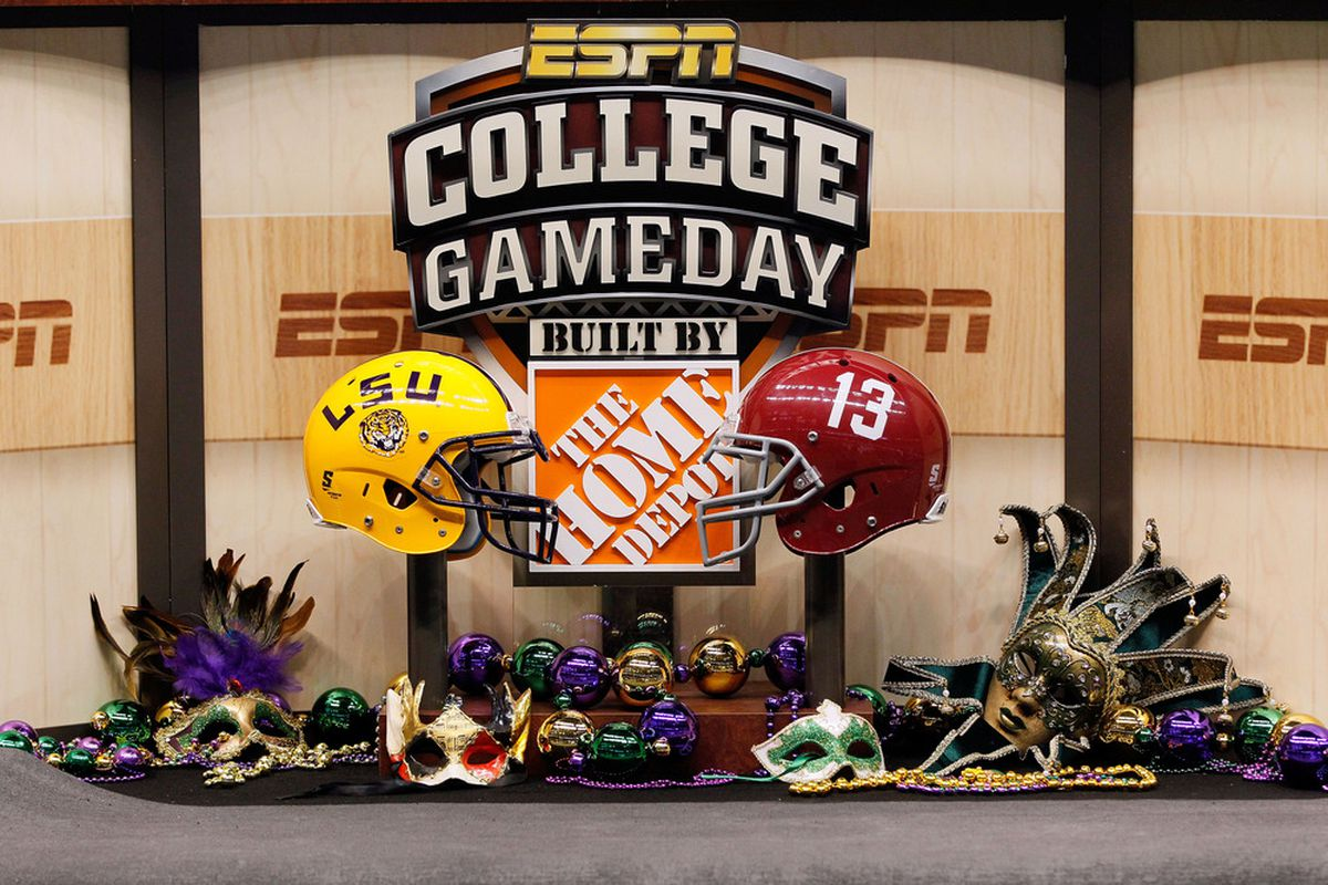 """ESPN's contest to pick a campus to promote in commercial for """"College GameDay"""" hit a major snag.  (Photo by Kevin C. Cox/Getty Images)"""
