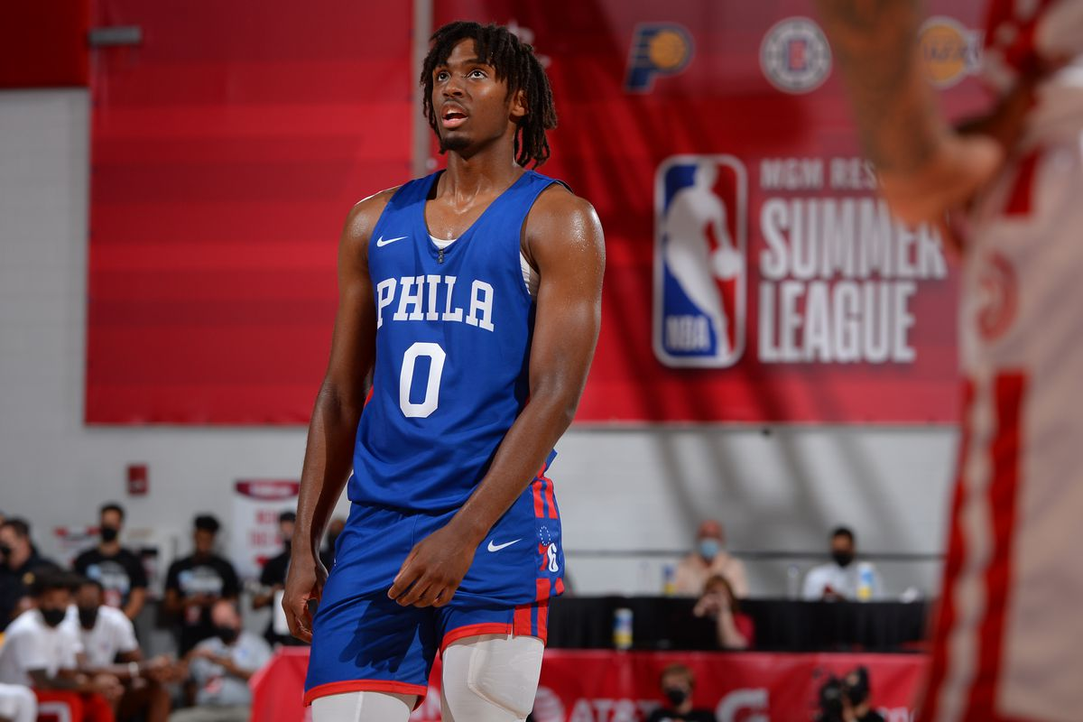 2021 Las Vegas Summer League - Philadelphia 76ers v Atlanta Hawks
