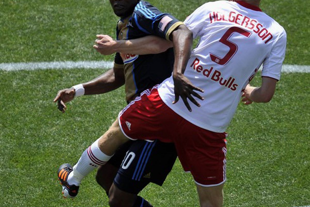 Markus Holgersson: he scores goals.